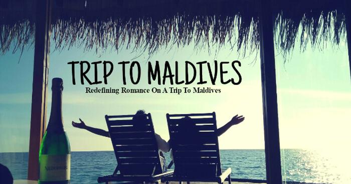 Kishor on a honeymoon trip to Maldives