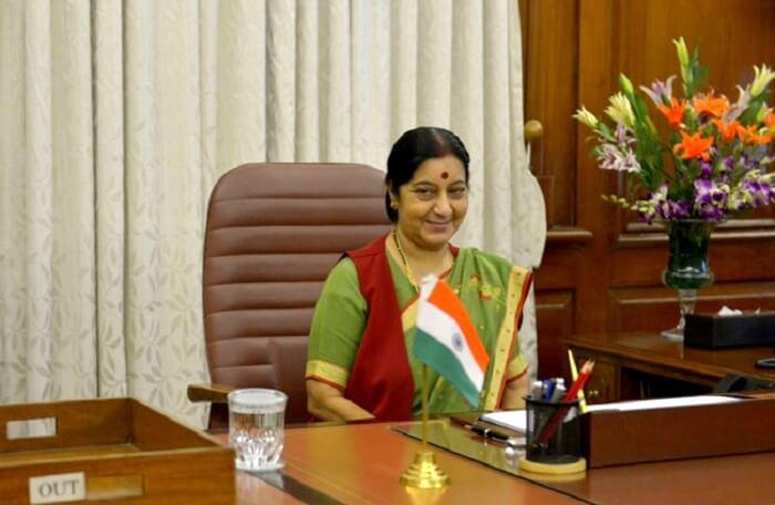 Sushma Swaraj in Office