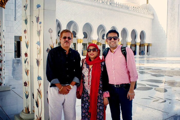 Viraj's family trip to Dubai