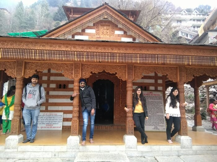 Hidimba temple in Manali