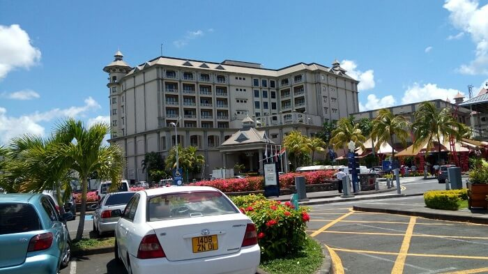hotel and cabs in Mauritius