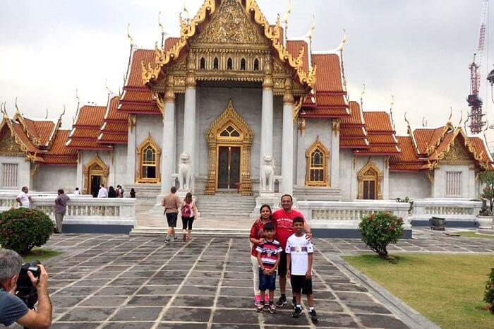 Brilliant artwork in temples in Bangkok