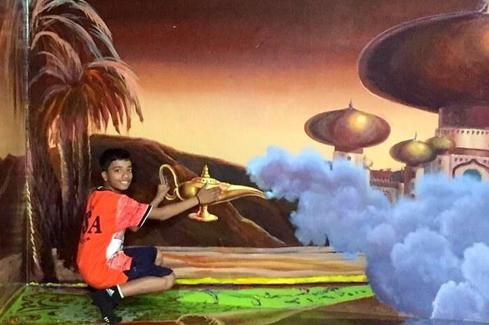 3D art museum in Bangkok