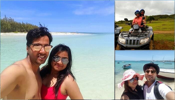 Romantic getaway to Mauritius