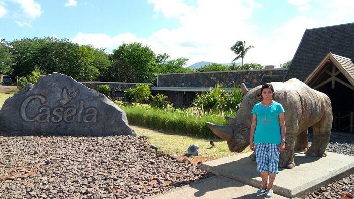 Casela Nature Park in Mauritius