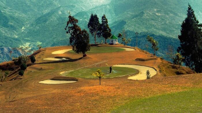 Golf Course in Darjeeling