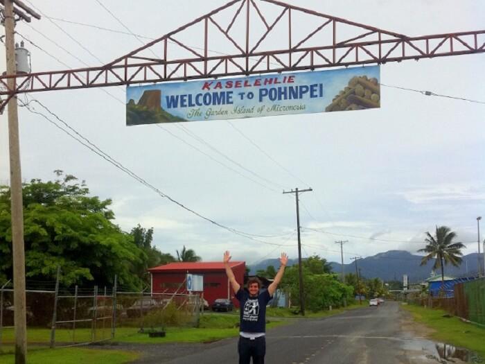 James in Micronasia