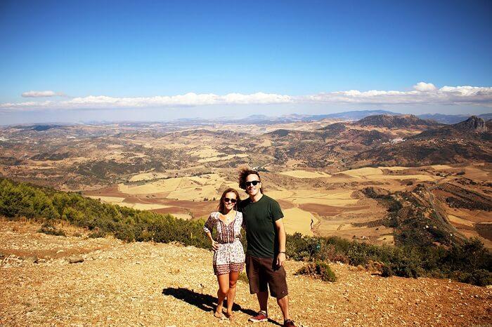 Honeymoon couple in Andalucia