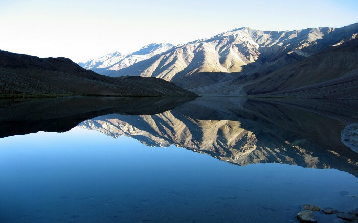 Chandratal Lake in Spiti