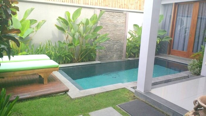 Honeymoon villa in Indonesia