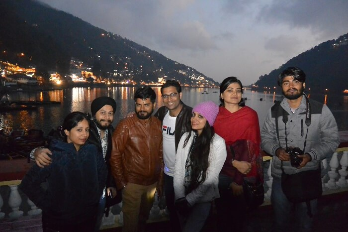 An evening in Nainital