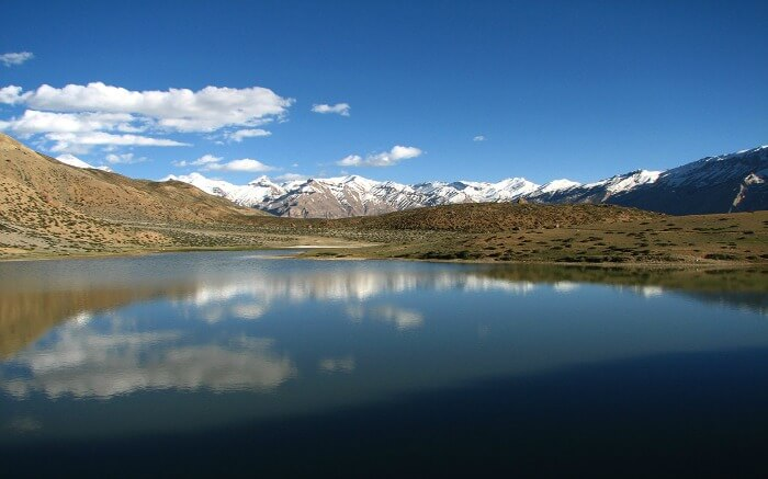 Dhankar Lake in Spiti - which is among the most beautiful things to see in Spiti