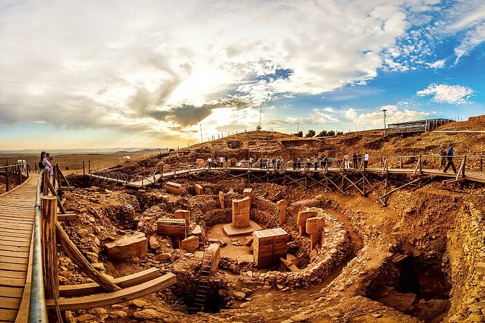 The stunning ruins of Gobekli Tepe in Turkey