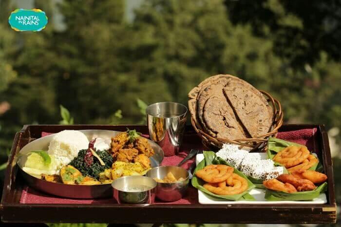 Delicious Garhwali cuisine