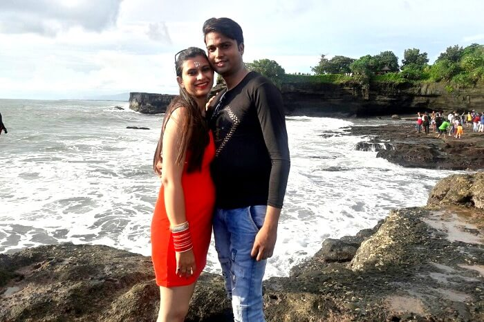 Tanha Lot Temple sunset tour