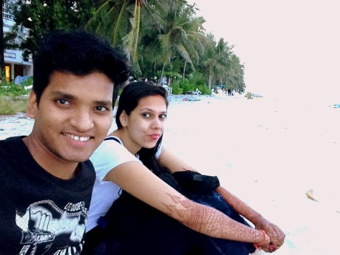 Couple in Male city
