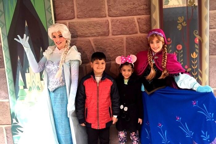 Disney princess mascots