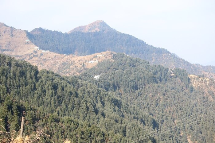 mountain range in dhanaulti