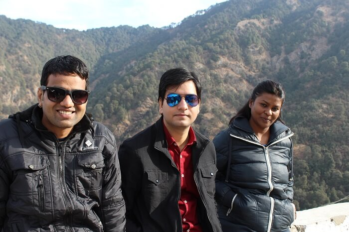 making new friends in dhanaulti