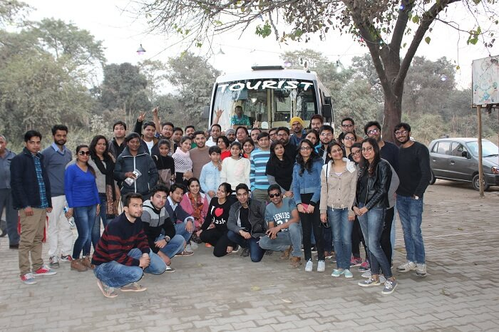 group trip to dhanaulti