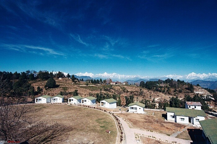 Beautiful landscape in Kausani