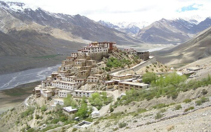 Shot of Key Monastery - which is one of the best places to visit in Spiti