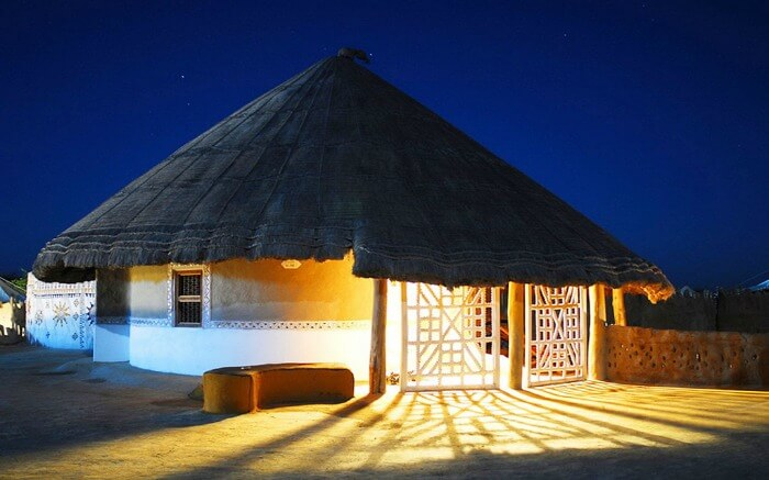 Hut in the Great Rann of Kutch