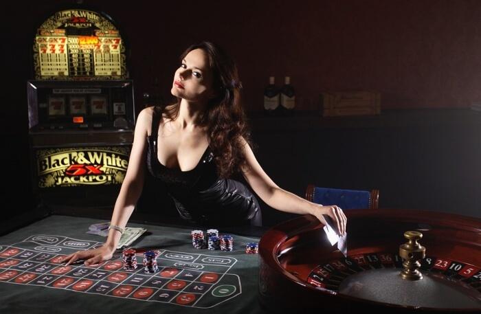 Casino and girl