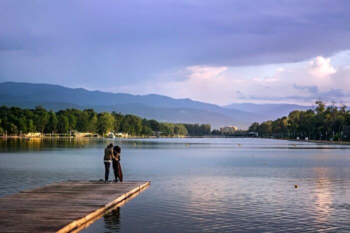 honeymoon couple in Plovdiv
