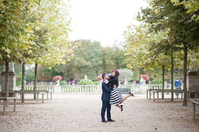 honeymoon couple in St. Tropez