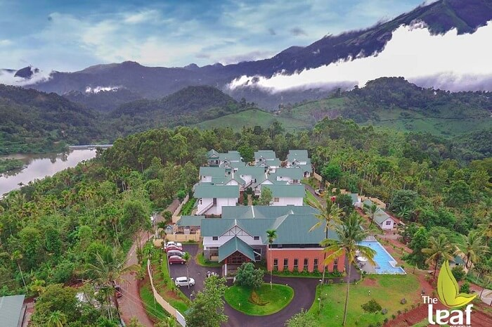 the leaf resort in Munnar