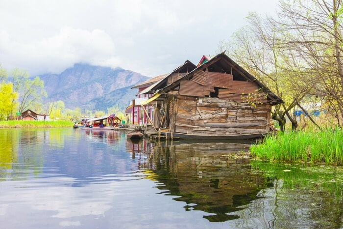 A view of Dal Lake in Kashmir