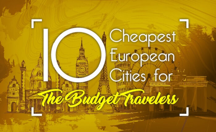 Some of the cheapest cities in Europe