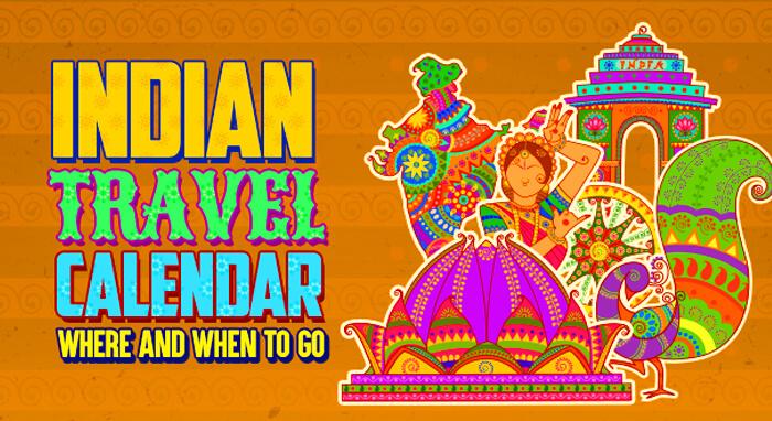India Travel Calendar cover image