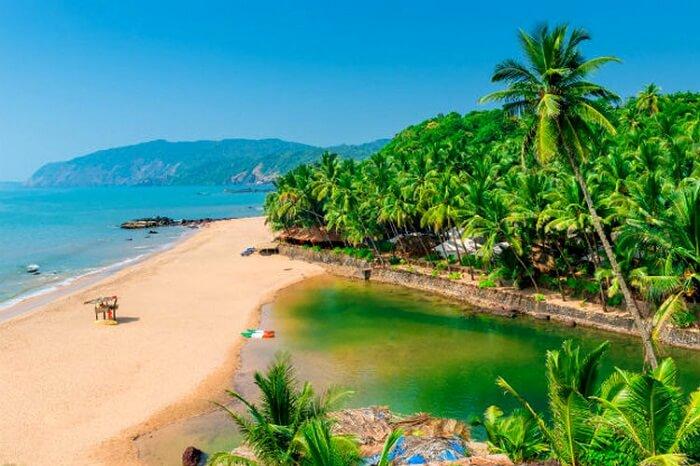 Beach view of Goa