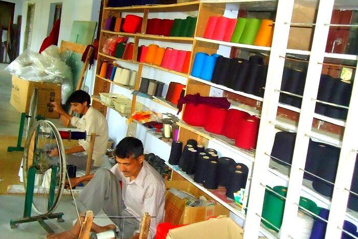 kausani shawl factory