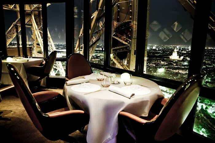 Dining at Le 58 in Eiffel Tower is one of the top things to do in Paris