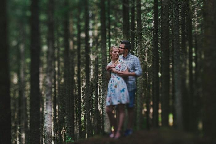 honeymoon couple in madeira