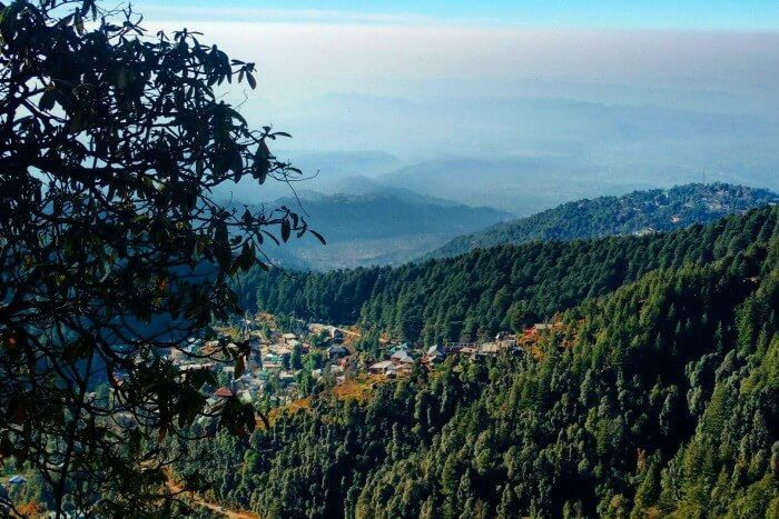 captivating view of mcleodganj