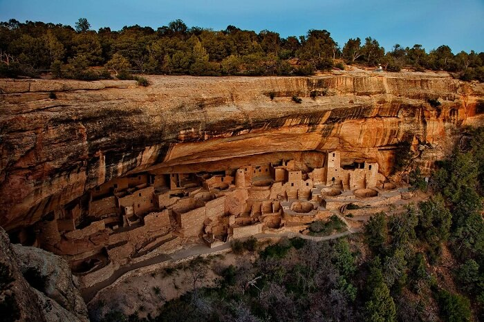 The hidden city in the Mesa Verde National Park