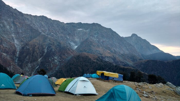 camps in triund