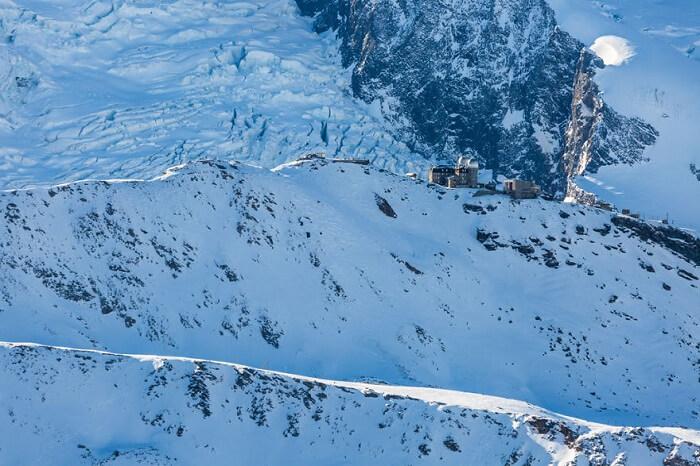 Gornergrat mountain top in Zermatt