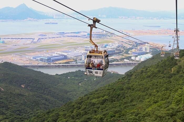Ngong Ping 360 Cable Car Lantau Island