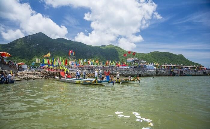The Dragon Boat Water Parade Hong Kong