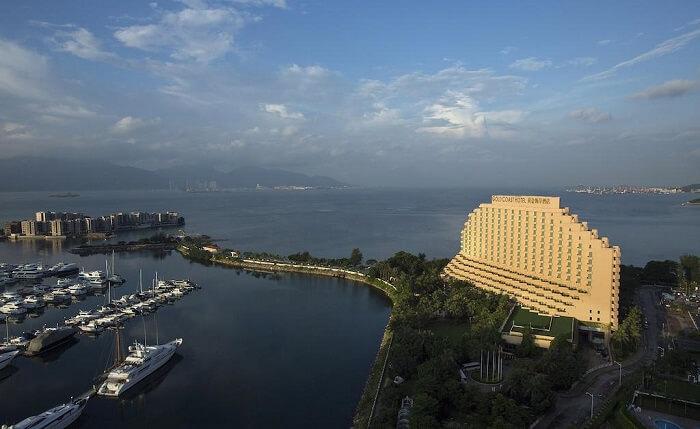 Gold Coast Hotel in Hong Kong