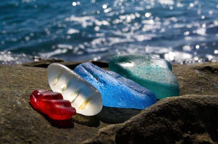 Glass Beach in Russia