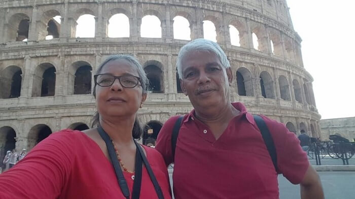 retired couple international travel