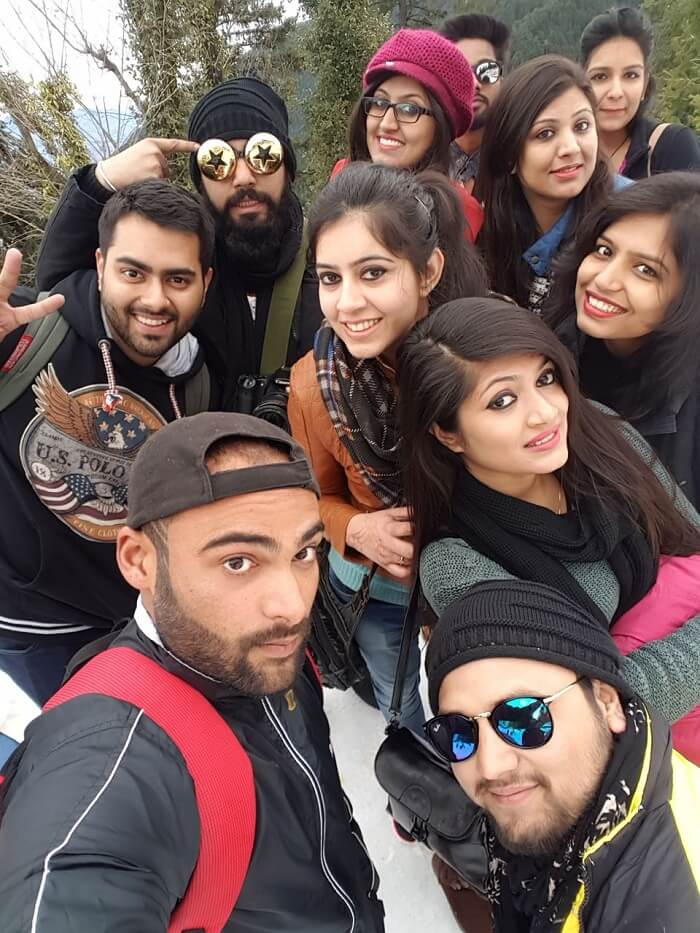 Traveling with friends to Dalhousie