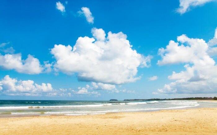 A beach in Bentota