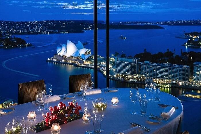 Date Night at Blue Bar, Shangri-La in Sydney